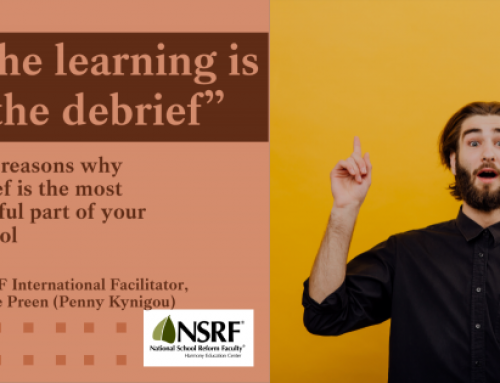 Learning is in the Debrief, by Penelope Preen