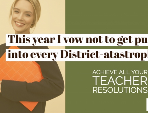 Achieve all your teacher resolutions in 2020