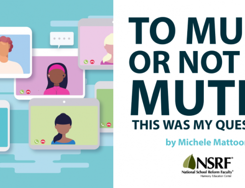 To mute or not to mute? by Michele Mattoon