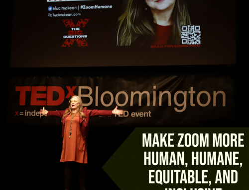Making Zoom more human, humane, inclusive, and equitable: A TEDx talk